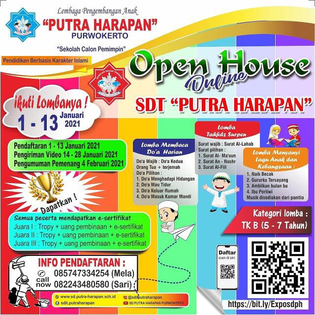 "Sertifikat Lomba ""Virtual Open House\"""